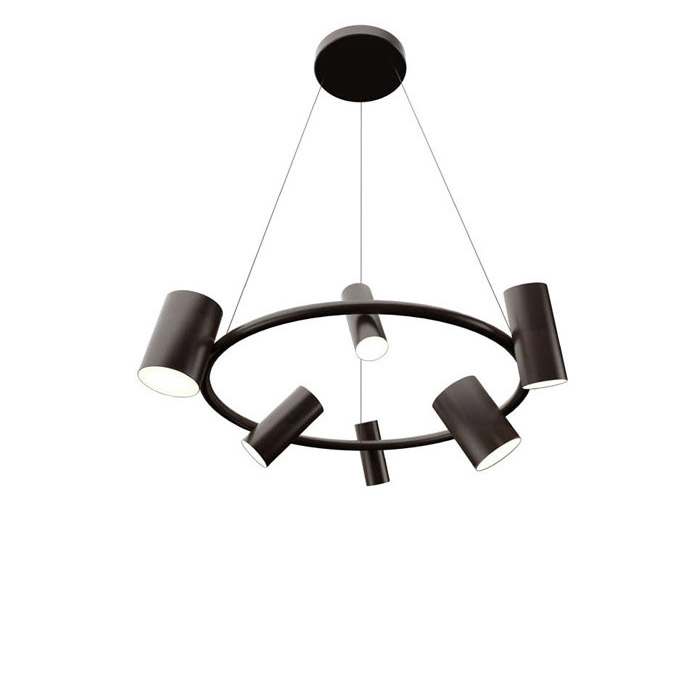 Can Can Round Suspension Lamp