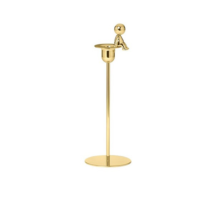 Omini - The Thinker Tall Candlestick