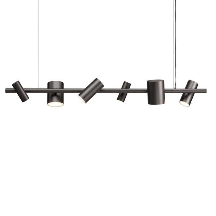 Can Can Linear Suspension Lamp