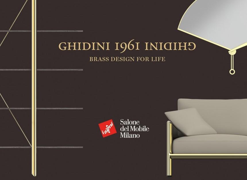 GHIDINI1961 al Salone del Mobile 2019